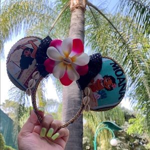 Moana Minnie Ears, Minnie a Mouse Ears.